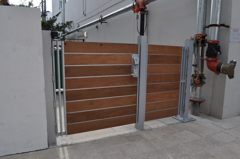 Dash door custom pedestrian gates miami